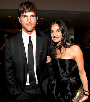 Ashton Kutcher and Demi Moore Pre Divorce