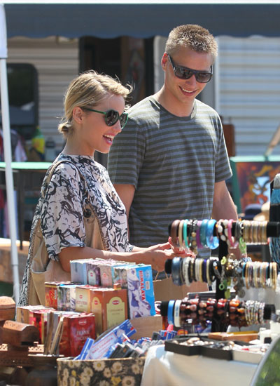 Dianna Agron and her brother Jason