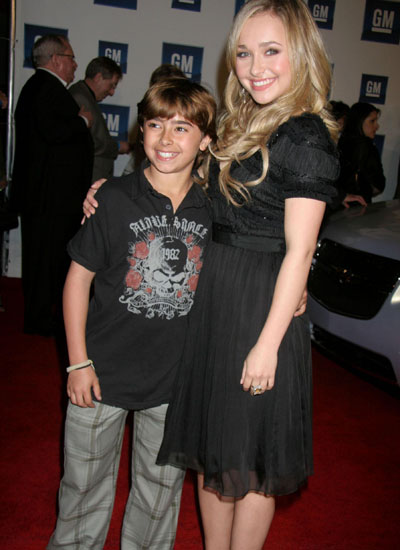 Hayden Panettiere and her brother Jansen