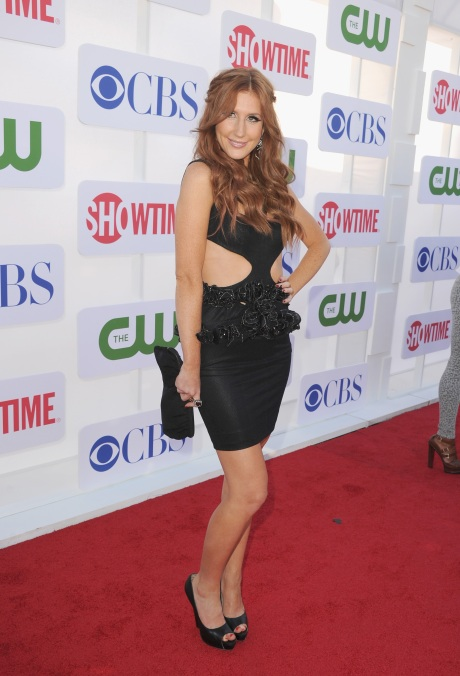 CW CBS And Showtime 2012 Summer TCA Party - Red Carpet