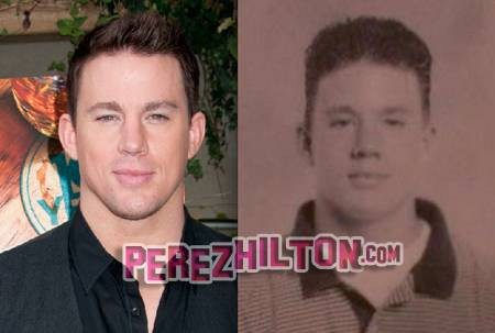 Channing Tatum Middle School Picture Sexiest Man