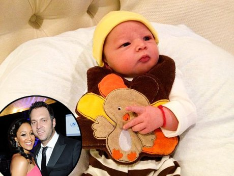 Tamera Mowry-Housley Thankful for Her 'Butterball'