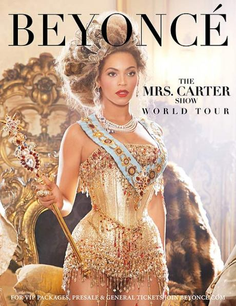 Beyonce Mrs. Carter World Tour
