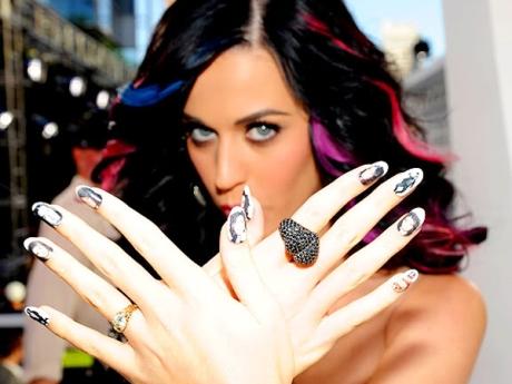 celebrity nail art