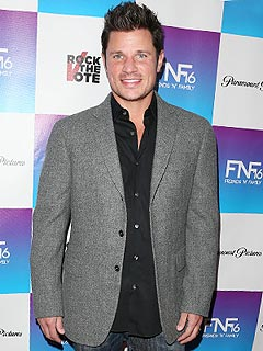 Nick Lachey Camden Pre Grammy Party