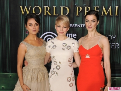 Mila Kunis, Michelle Williams, Rachel Weisz