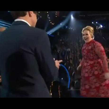 Vitalli Sediuk Crashes Grammys Adele