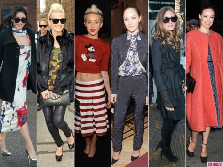 NYFW Fall 2013's Best-Dressed Celebs